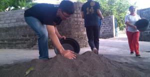 Bali Coral reef rebuilding-playground upgrade